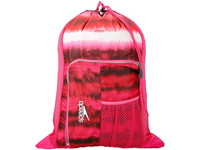 speedo Deluxe Ventilator Mesh Bag L cage pink